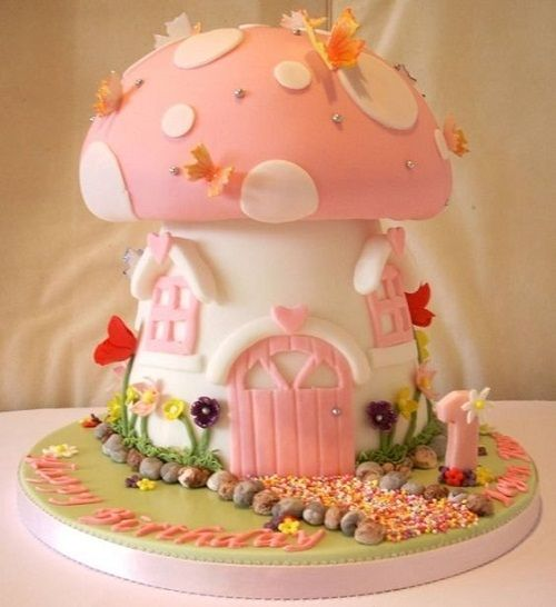Unique Design Birthday Cake Online