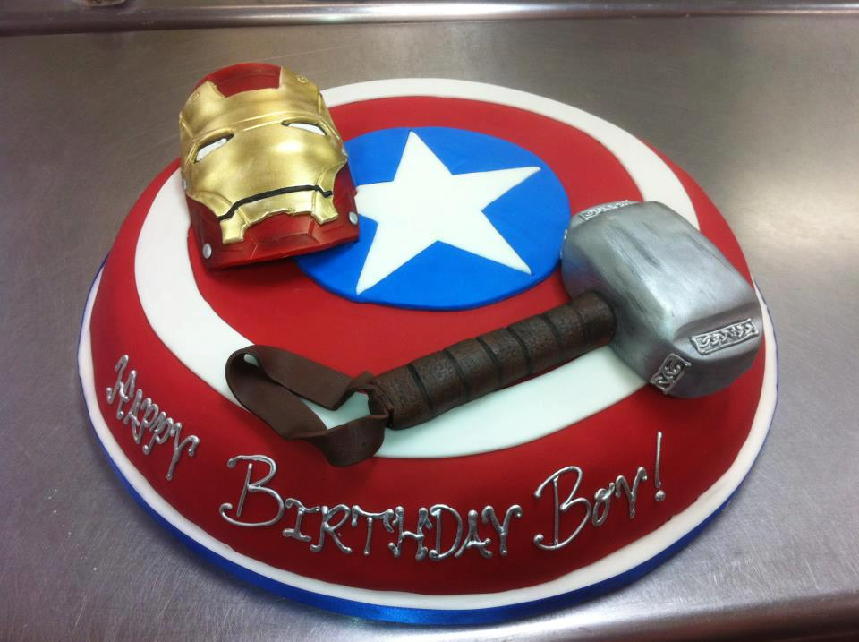 Superhero Designer Birthday Cake For Kids