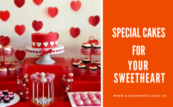 Designer Cakes Ideas for Sweetheart this Valentine's Day