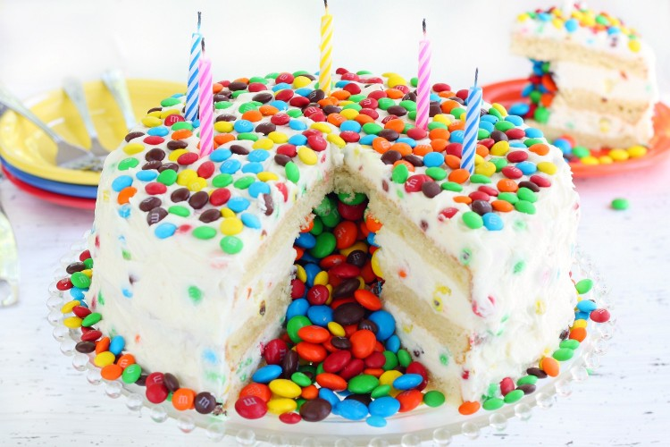 Piñata cake recipe