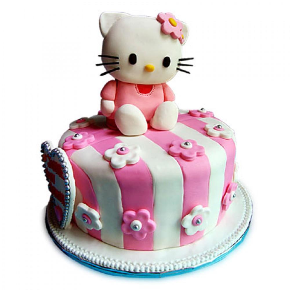 Kitty Birthday Designer cake