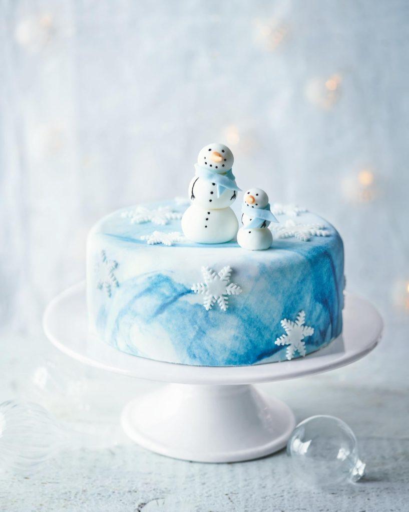 Winter Wonderland Winter special designer cake