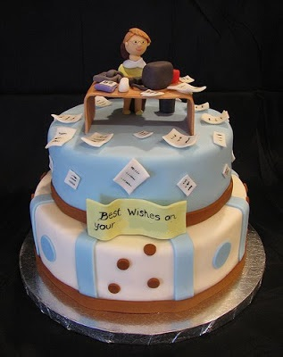 Fondant cake corporate life