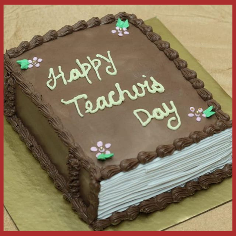 Say Thank You With Heartwarming Teacher S Day Cake