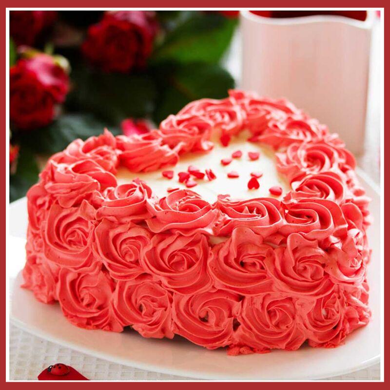 Top 5 Romantic Birthday Cake Ideas for Girlfriend - Kingdom of Cakes