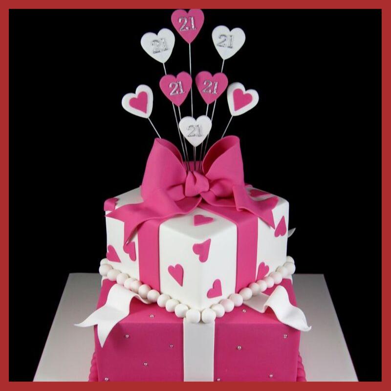designer cake for girls