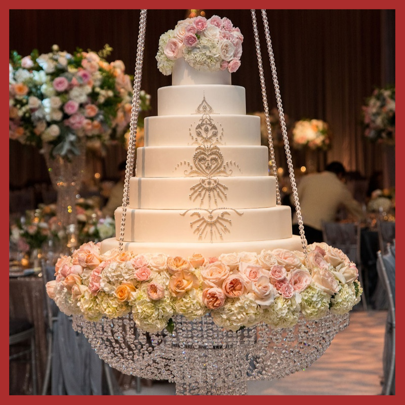 Shower Wedding Designer Chandelier Cake