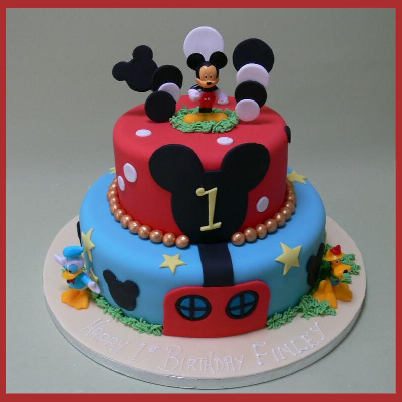 Disney Themed Customized cake