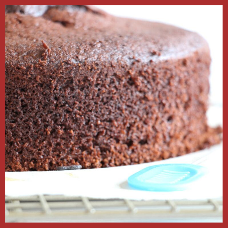 dry chocolate cake
