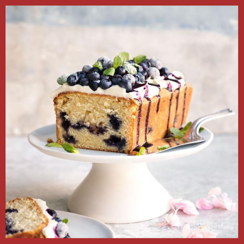 Blueberry Dry Flavoured cake
