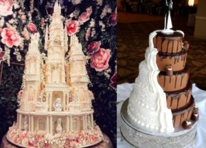 Special designer wedding cakes