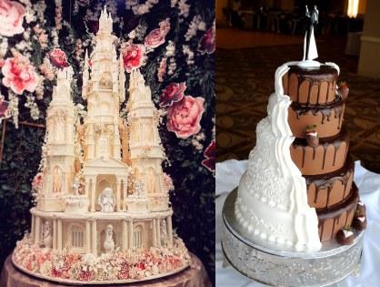 Special designer wedding cakes